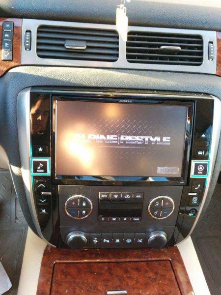 Alpine X009gm 2014 Suburban Sound Waves Car Audio