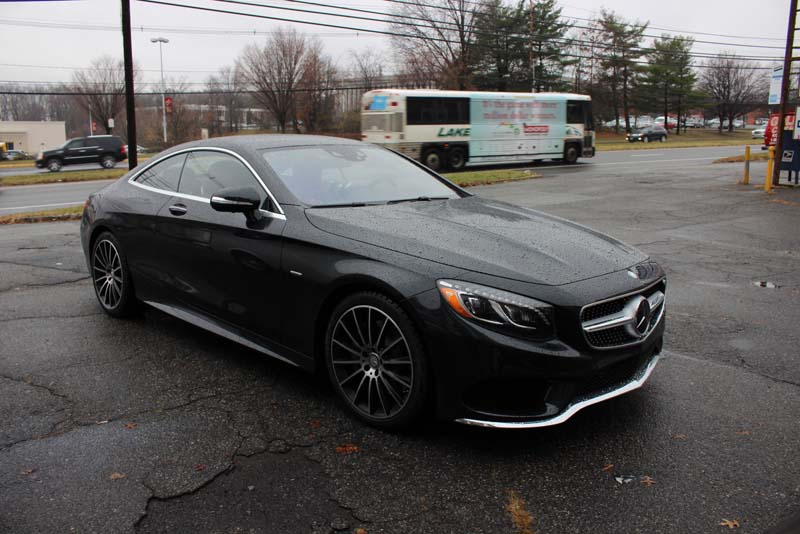 Mercedes s550 coupe edition1 9500ci custom install from for Custom mercedes benz s550