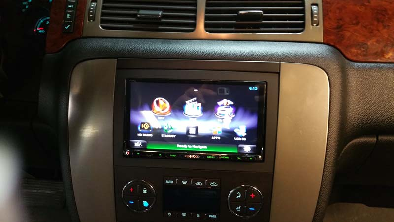 Dnn991hd Kenwood Excelon Gmc Sierra Install Sound Waves