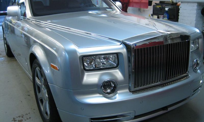 Rolls Royce Phantom Tint