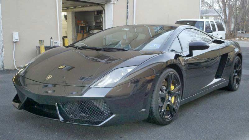 Lamborghini Radar Install