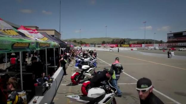 Joe & Sam's Motorcycle Race