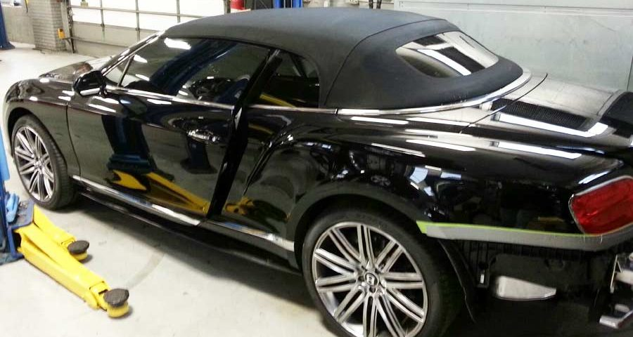 Bentley GTC Tinted