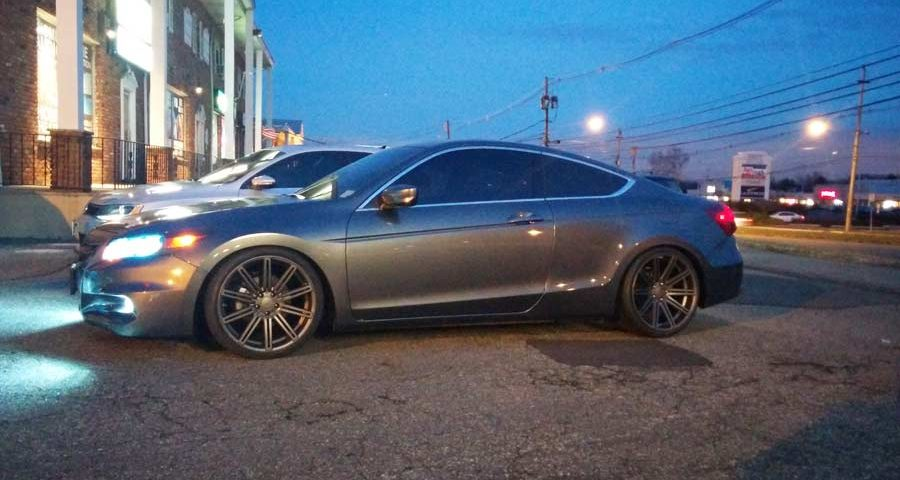 2012 Honda Accord Coupe Installed