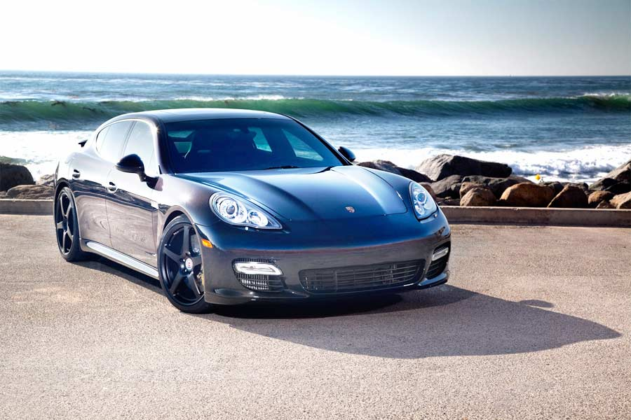 Porsche Panamera Radar Install