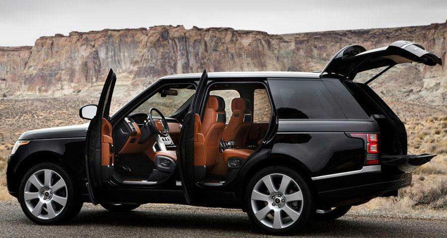 Range Rover Custom Molded 9500ci Escort Radar