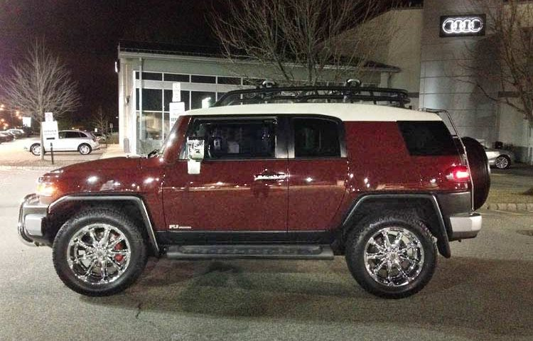 FJ Cruiser: Chrome Everything
