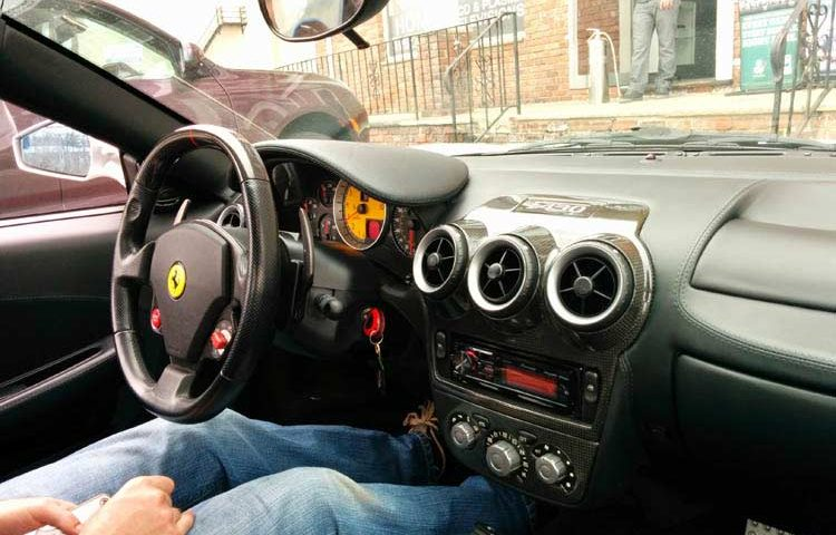 Ferrari Custom Audio System