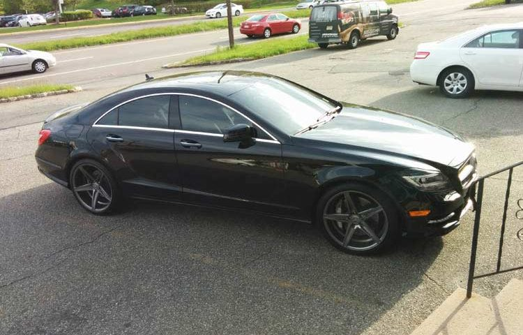 Mercedes CLS: Wheels and Tint