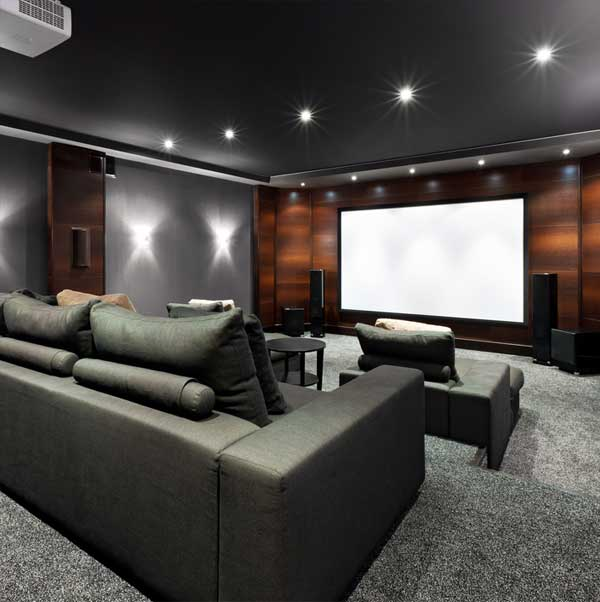 Home Theater Room Sound Waves