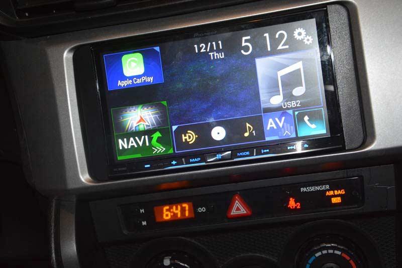 Subaru BRZ AVIC NEX Installed