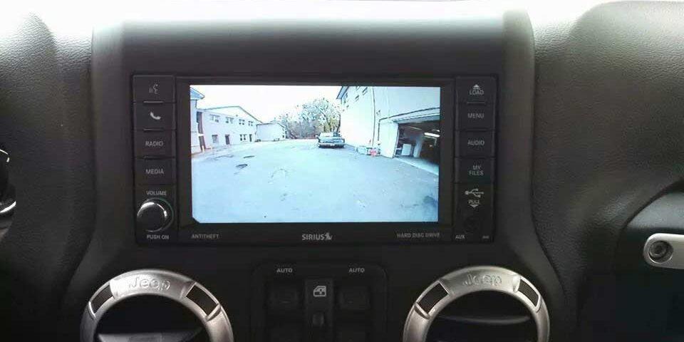 Jeep Wrangler OEM Cam Install Custom Brackets