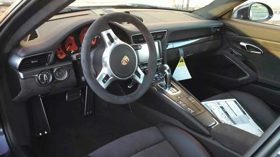 Porsche GT3 Clear Shield Install