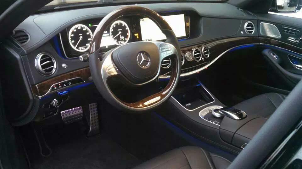 Escort 9500CI Radar Installed Benz S Class