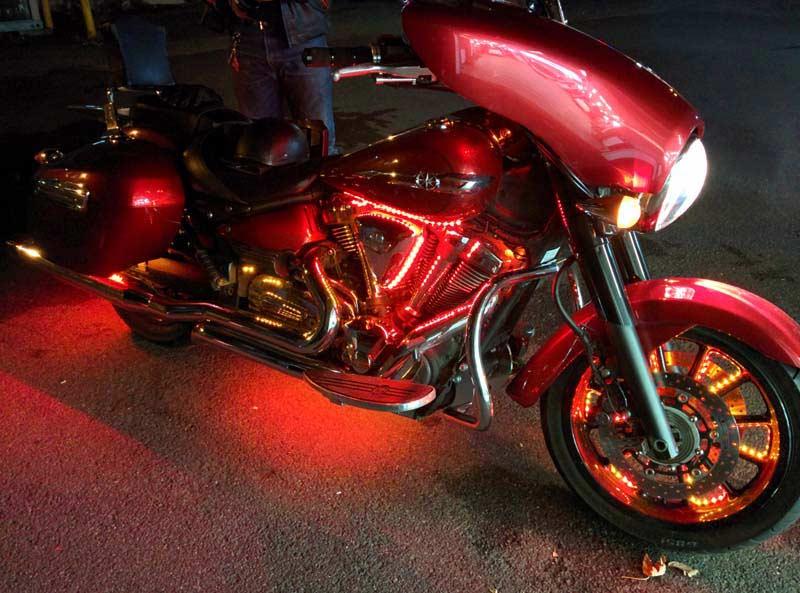 Yamaha Motorcycle Speaker AMP Install
