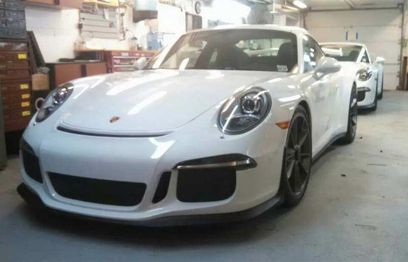 Porsche 15 GT3 Install From Sound Waves