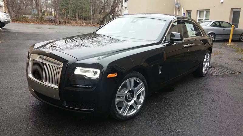 Rolls Royce Custom Radar Installed From Sound Waves