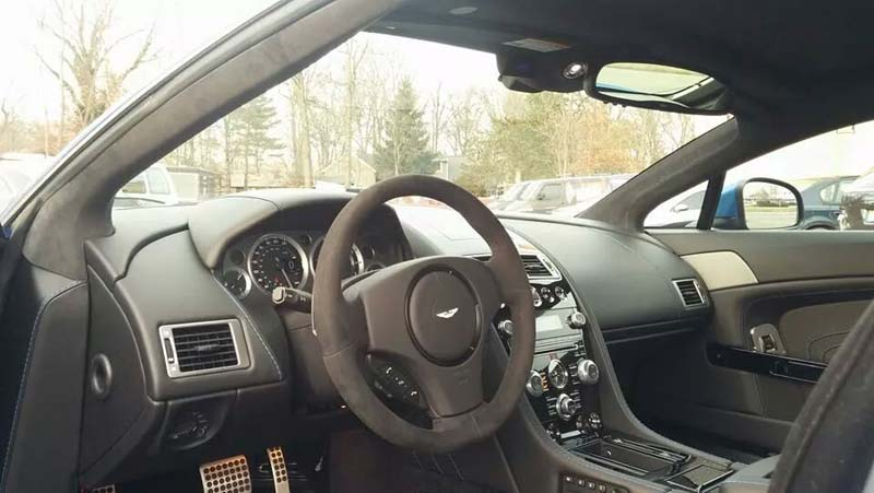 Aston Martin 9500 Custom Radar Install From Sound Waves