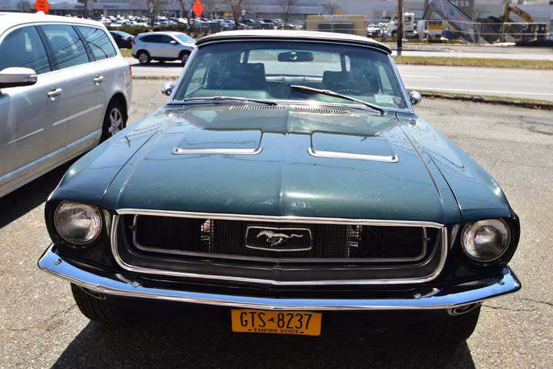 Classic Ford Mustang Before Photos From Sound Waves