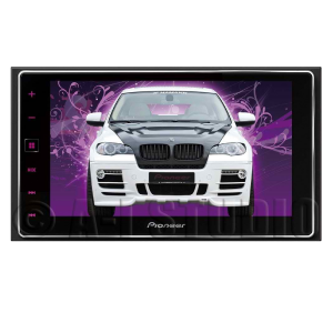 Pioneer AppRadio 4 SPH-DA120 6-Inch Capacitive Touchscreen Display Smartphone Receiver