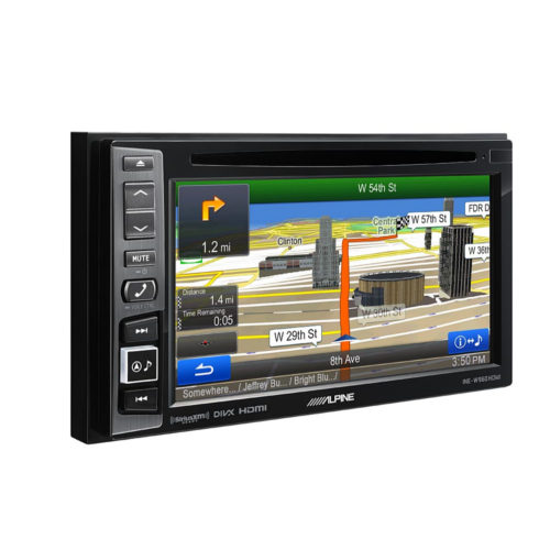 in-dash GPS navigation with SiriusXM Tuner