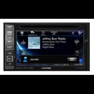 in-dash GPS navigation with SiriusXM Tuner