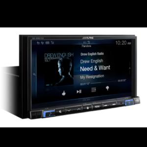 7-inch merch-less audio/video navigation receiver