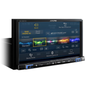 7-inch merch-less audio/video navigation receiver
