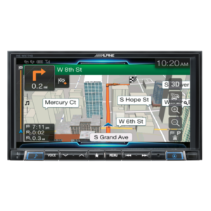7-inch merch-less advanced navigation