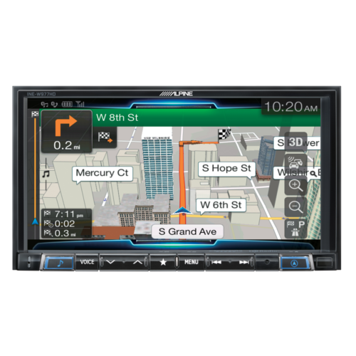 7-inch merch-less advanced navigation