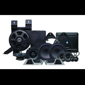 3-way sound system for 2014+ GM Trucks