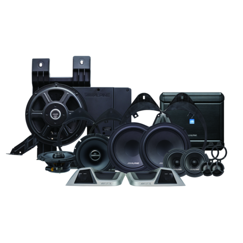 3-way sound system for 2014+ GM Trucks