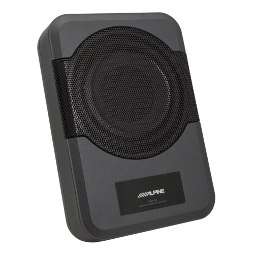 """Compact powered 8"""" subwoofer"""
