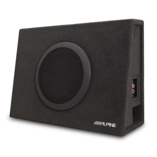 """Truck enclosure with 10"""" subwoofer"""