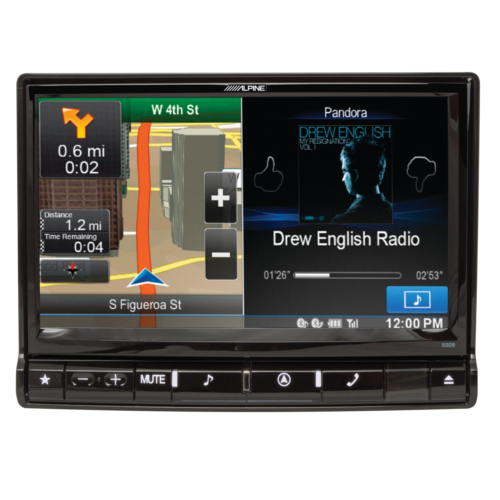 9-inch in-dash restyle receiver
