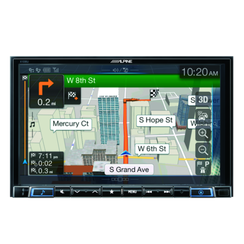 8-inch in-dash restyle receiver