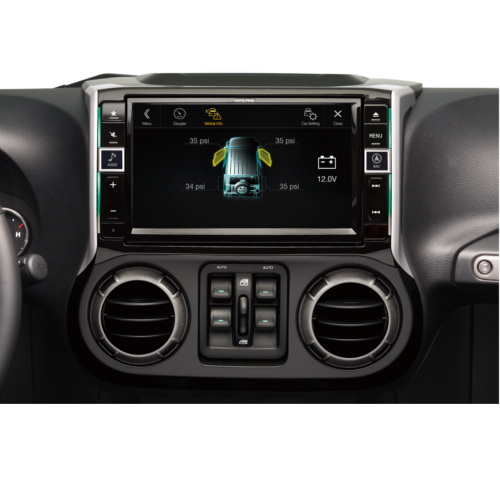 9-inch restyle dash system 2011-2017 Jeep Wrangler