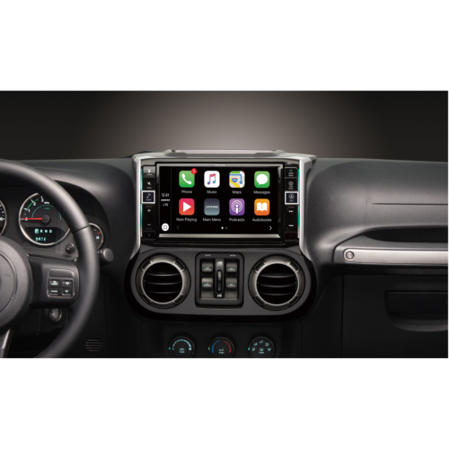 9-inch restyle merch-less dash system with apple carplay