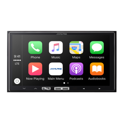 7-inch merch-less in-dash receiver with wireless apple carplay