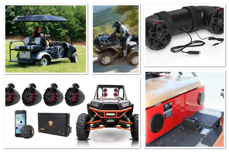 ATV_UTV_Side-By-Side_Utility_Vehicles_Golf_Carts_Audio_Installation_White, NJ
