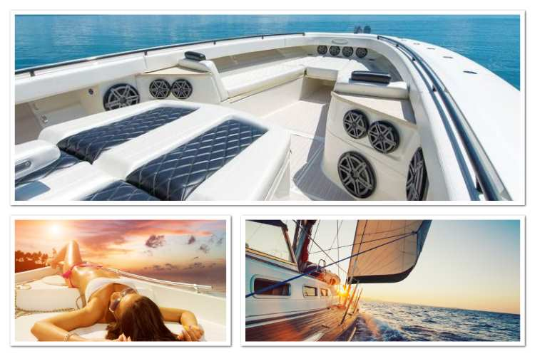 Marine Boat Yacht Sailboat Audio Installation White, NJ